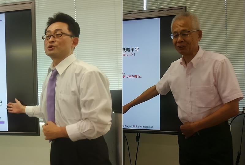 (当日の様子) 2017年8月5日 日本ITストラテジスト協会四国支部、中国支部 ITストラテジスト試験対策講座